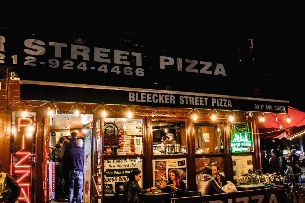 John's of Bleecker street pizza