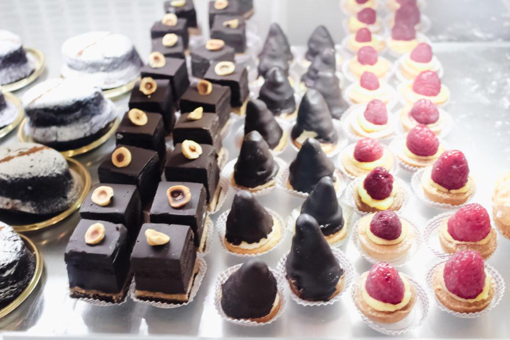 Italian desserts at eataly
