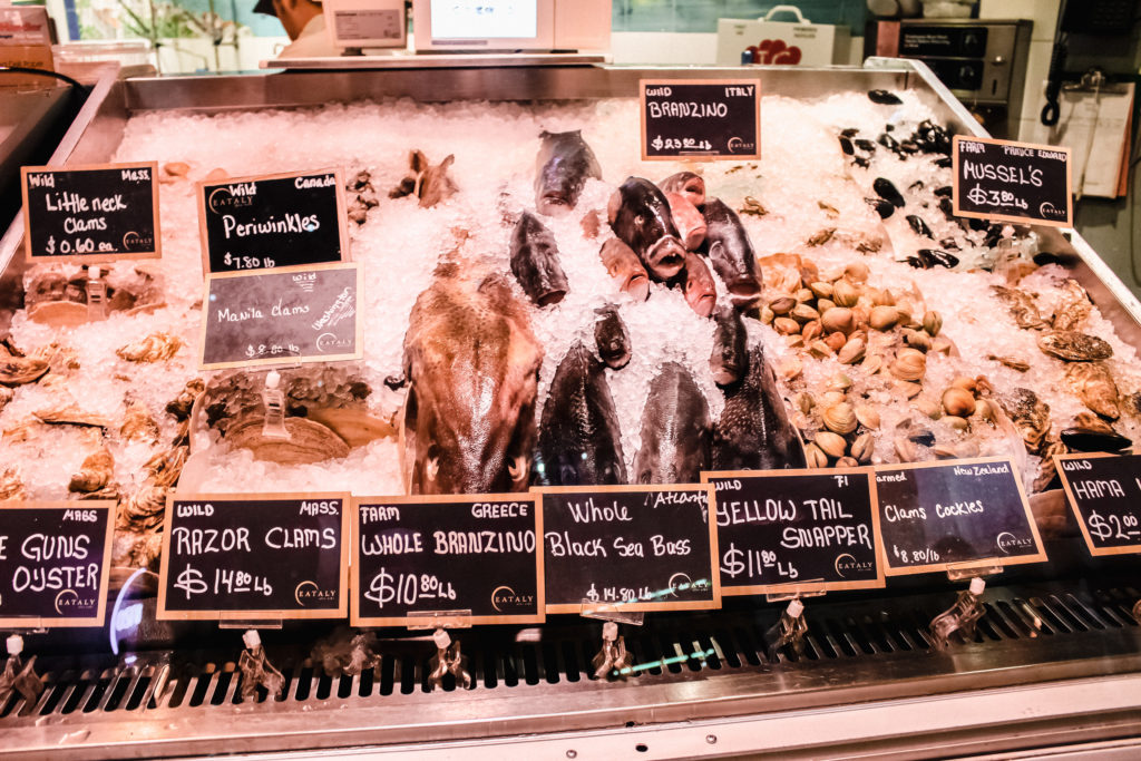 Eataly seafood
