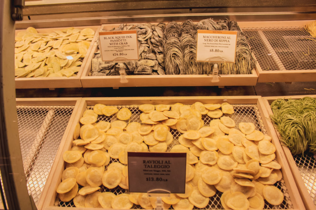 past at Eataly