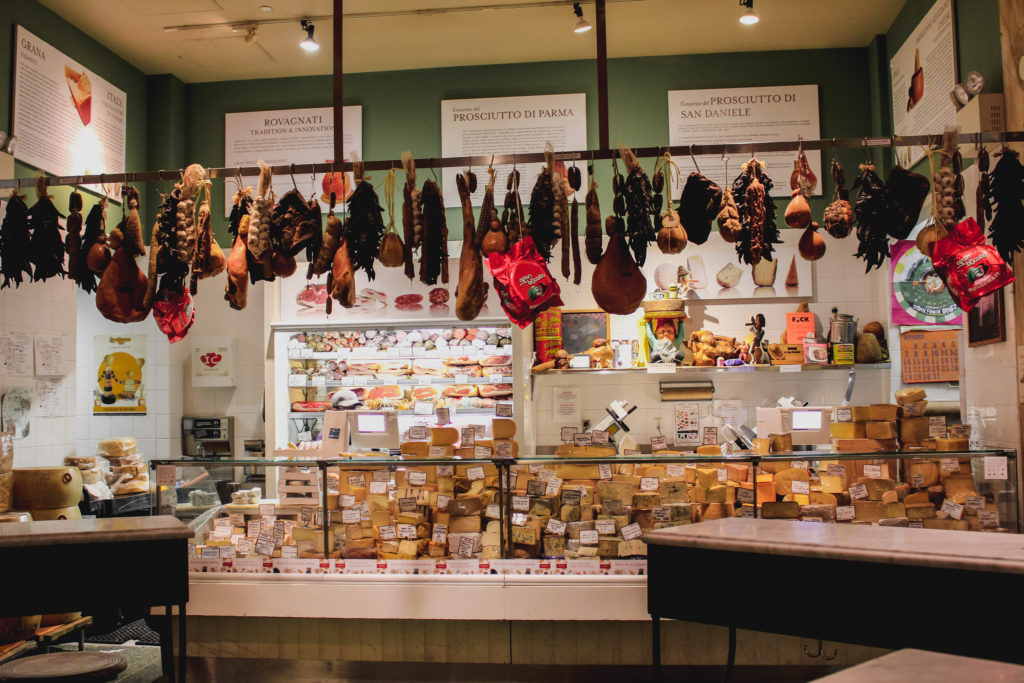 Eatlay, meat and cheese