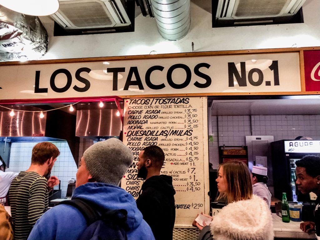 Los tacos no.1 NYC