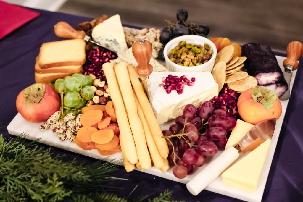 Keto Christmas Cheese Table
