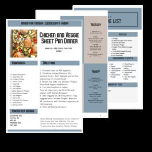 Clean Keto Meal Plan