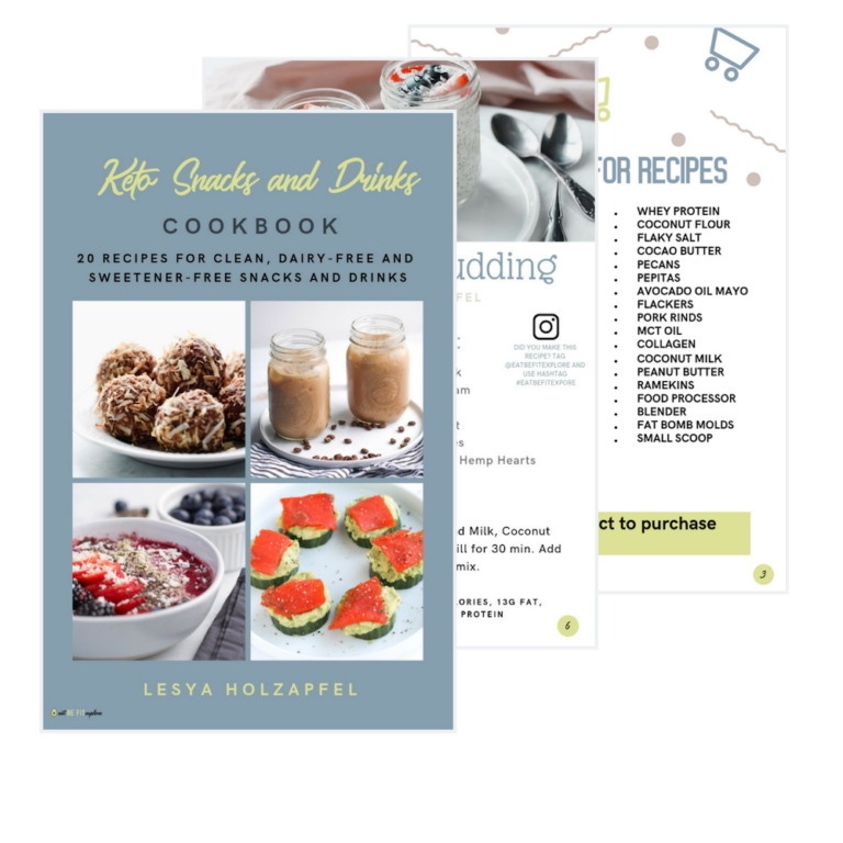 Clean Keto Snack Book