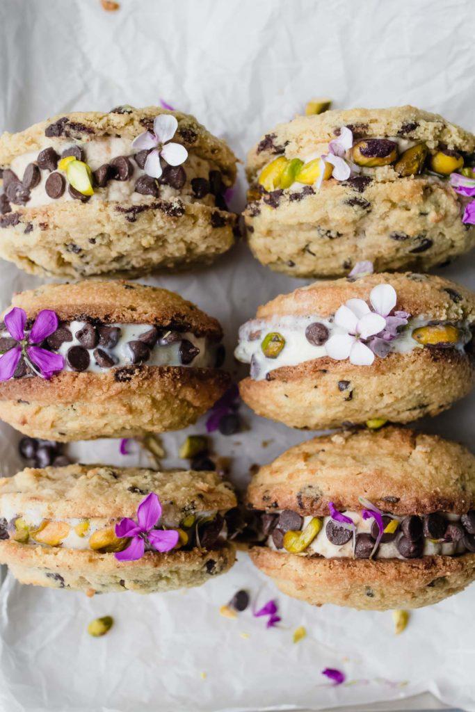 Keto Ice Cream Sandwiches