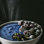 keto blue majik smoothie bowl