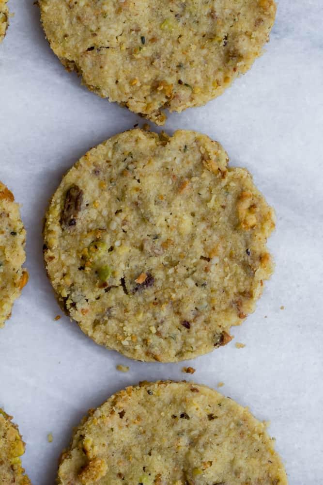 pistachio sandies